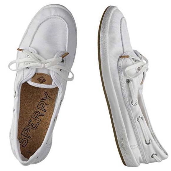 be067ef92fd36 Sperry Canvas Sport Classic Drift Hale Boat Shoes NWT